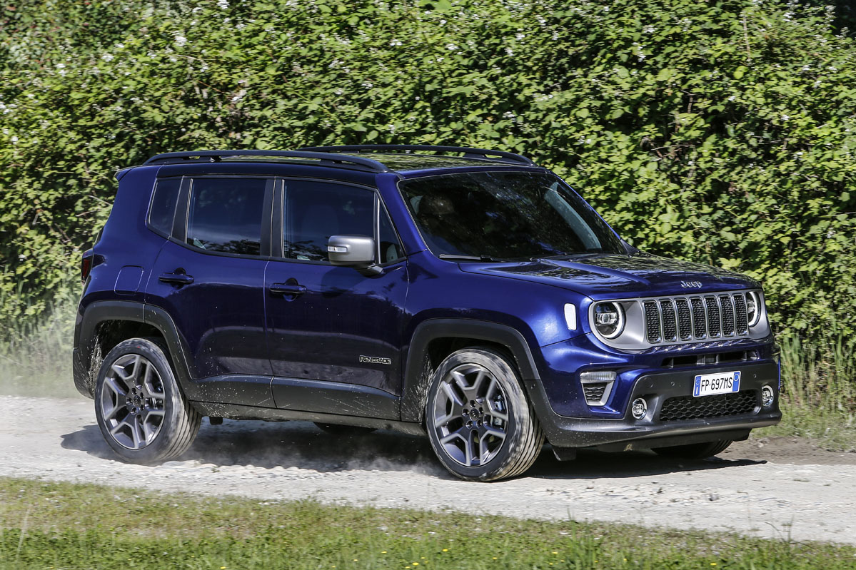 prueba Jeep Renegade 2019 1.3 Turbo 180 CV 4x4