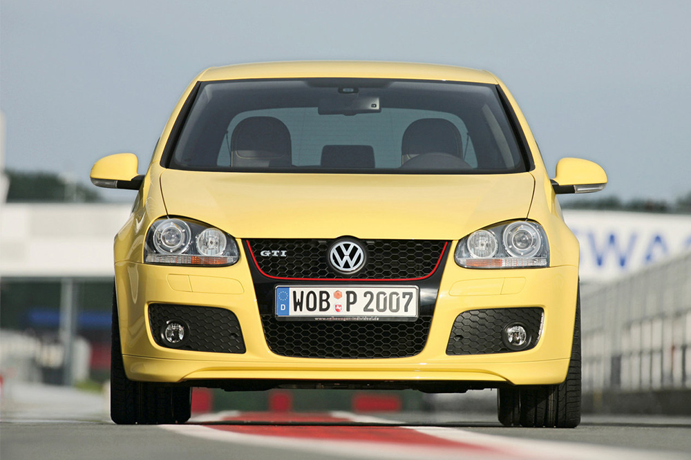 versiones especiales del golf gti Pirelli