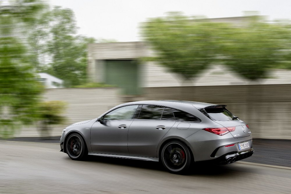 Mercedes-AMG CLA 45 4MATIC+ Shooting Brake 2019