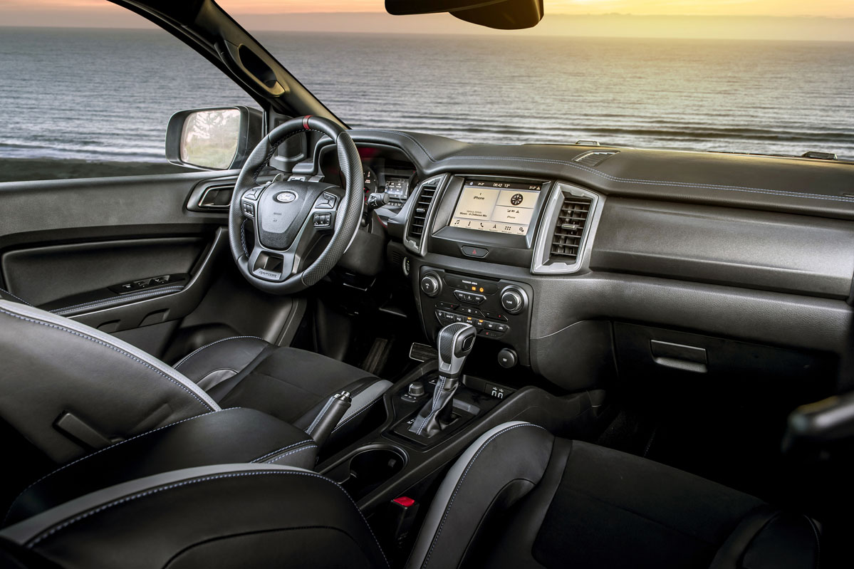 interior Ford Ranger Raptor