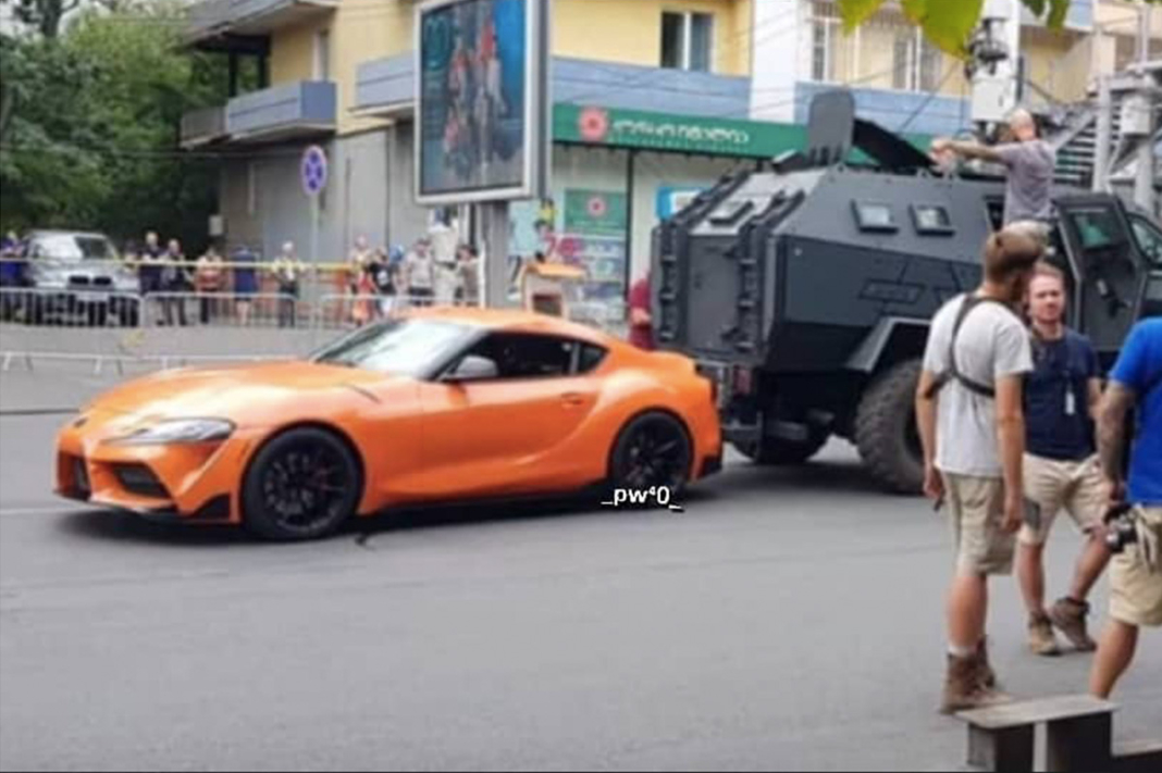 Toyota Supra en Fast and Furious 9