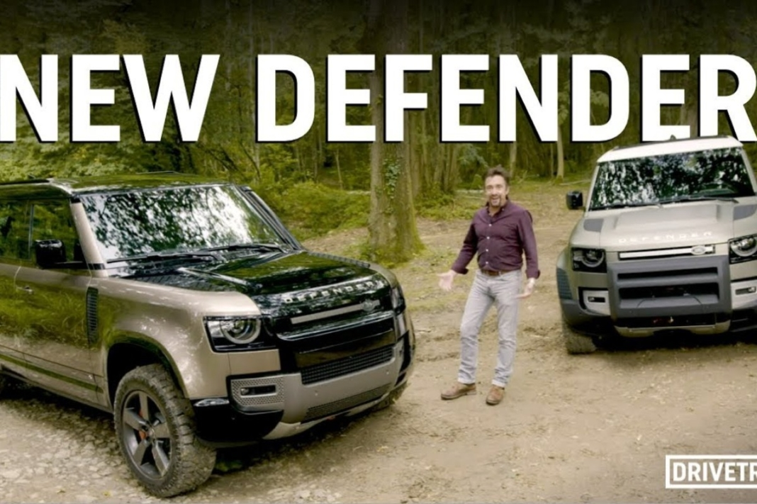 Richard Hammond Land Rover Defender 2020