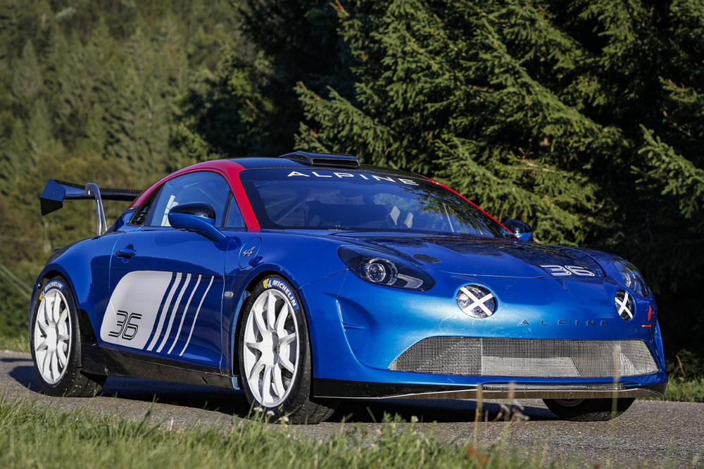 Alpine A110 Rally delantera