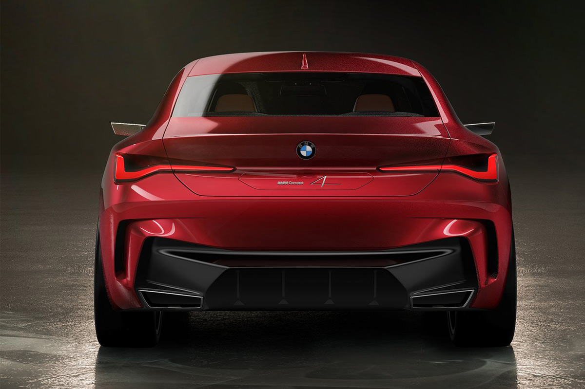 BMW Concep 4 trasera