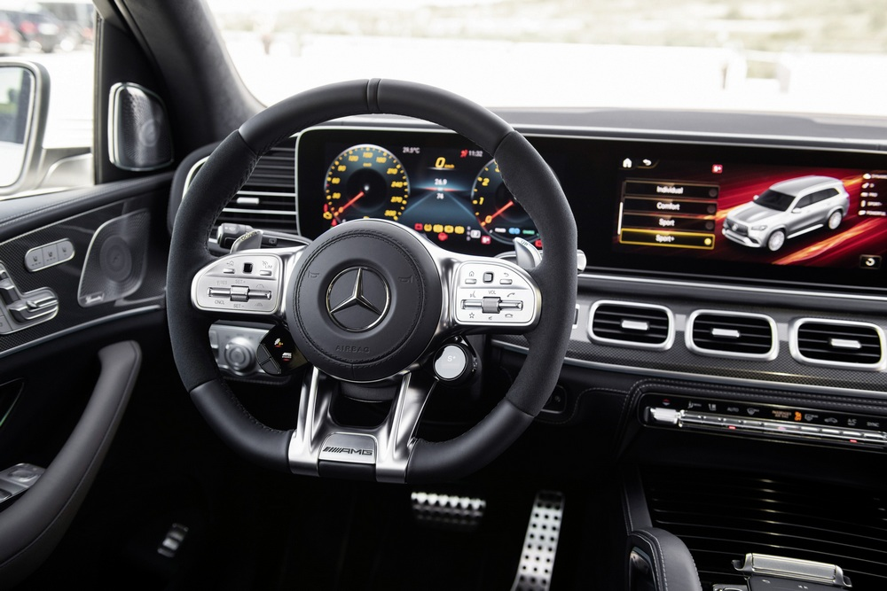mercedes-amg gls 63 4matic+ interior