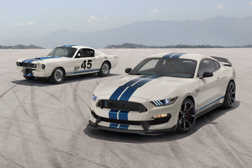 Ford Mustang Shelby GT350 Heritage Edition Package