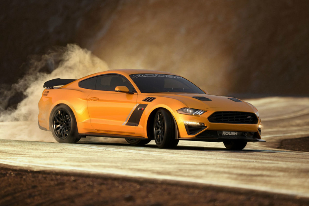 Ford Mustang Stage 3 Roush Performance