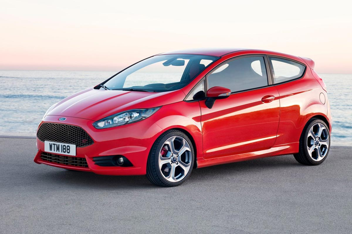coches deportivos divertidos ford fiesta st