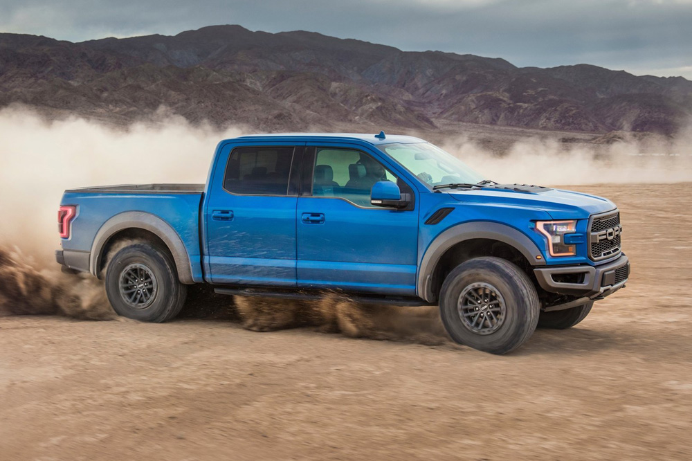 Ford F-150 Raptor lateral