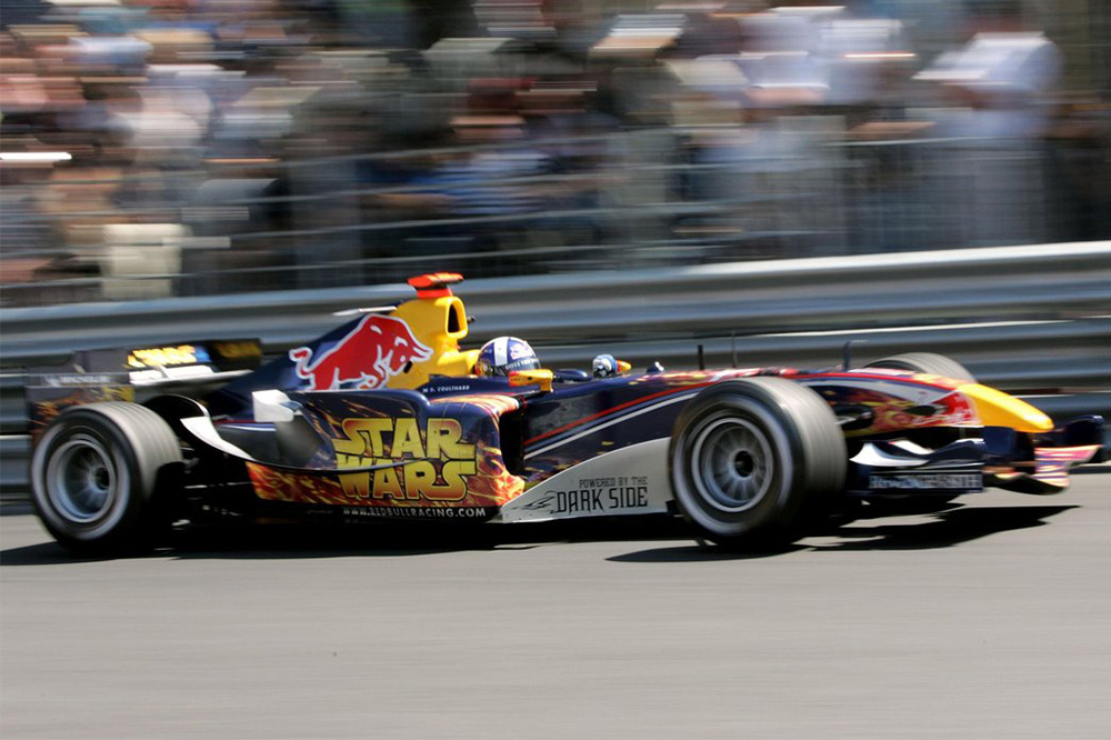coches de star wars red bull