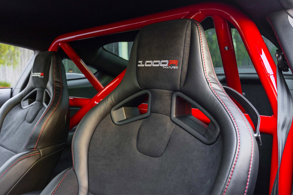 Ford Mustang Shelby GT350 de Fathouse interior