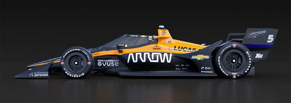 Coche Arrow McLaren SP indy 500