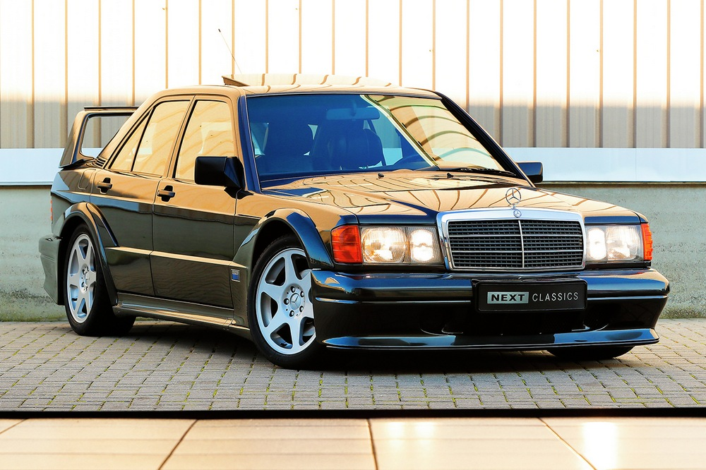 subasta Mercedes 190E 2.5-16 Evolution II frontal