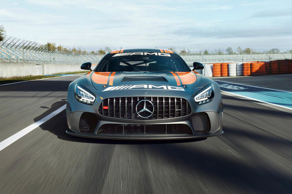 Mercedes-AMG GT4 2020 frontal