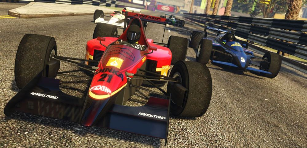 Open Wheel Races GTA Online