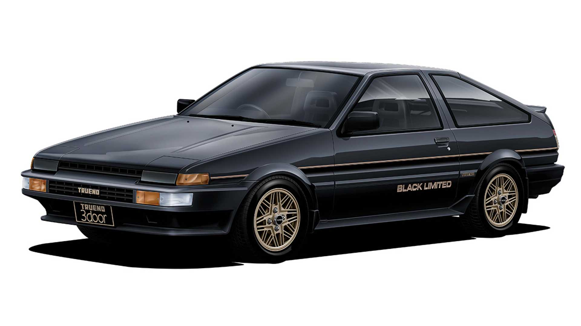 Toyota AE86 Black Limited