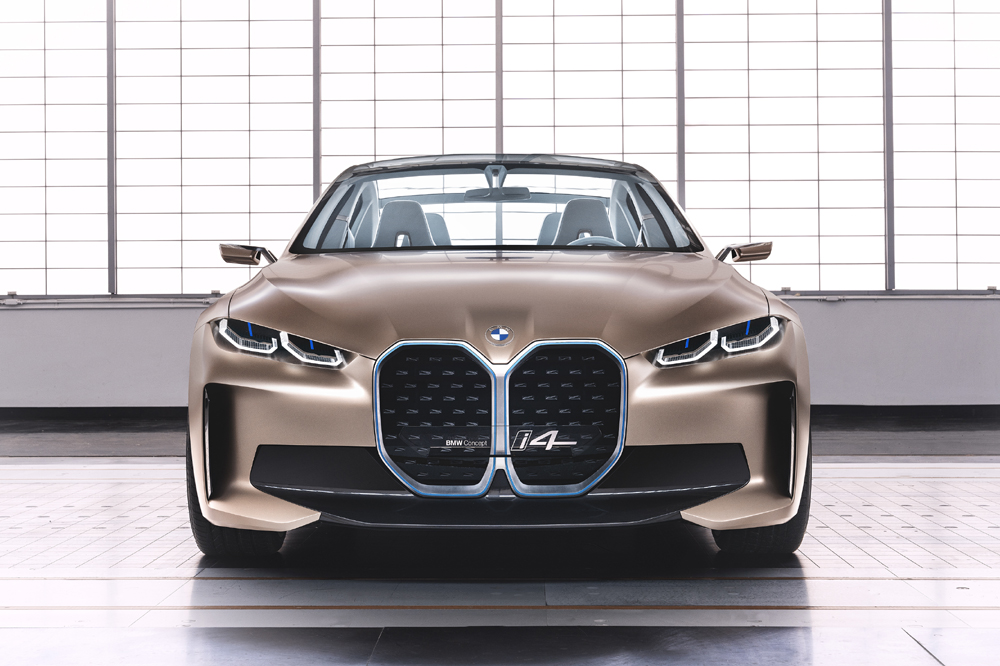bmw concept i4 frontal