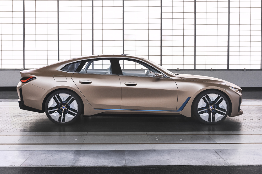 bmw concept i4 lateral