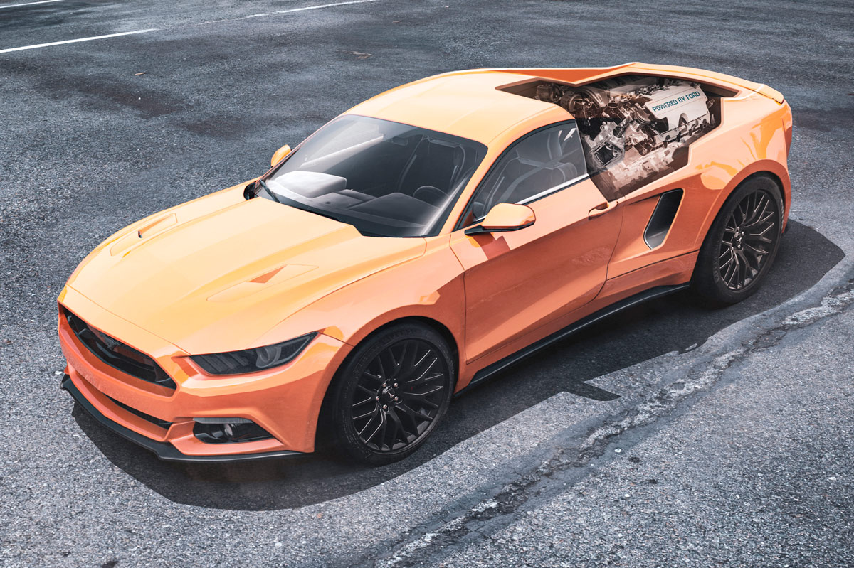Ford Mustang motor central