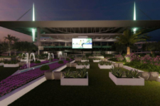 estadio Miami Dolphins cine coches