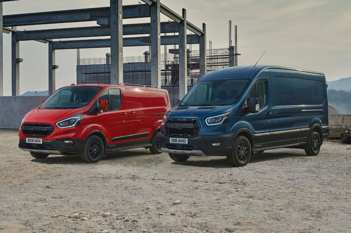 Ford Transit y Tourneo variantes Trail y Active