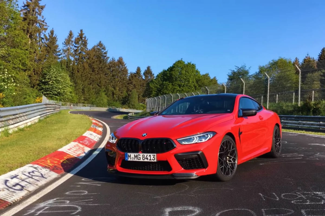 BMW M8 Competition Nürburgring