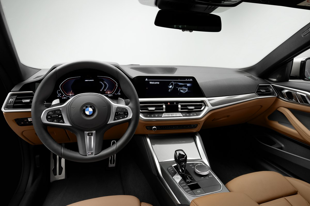BMW Serie 4 Coupé 2020 interior