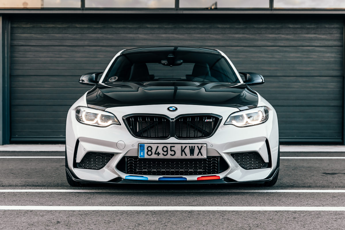 foto frontal del BMW M2 Competition M Performance