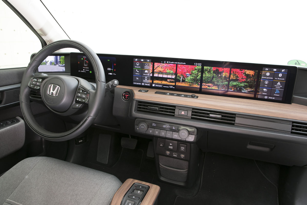 foto del interior del Honda e Advance 2020 154 CV