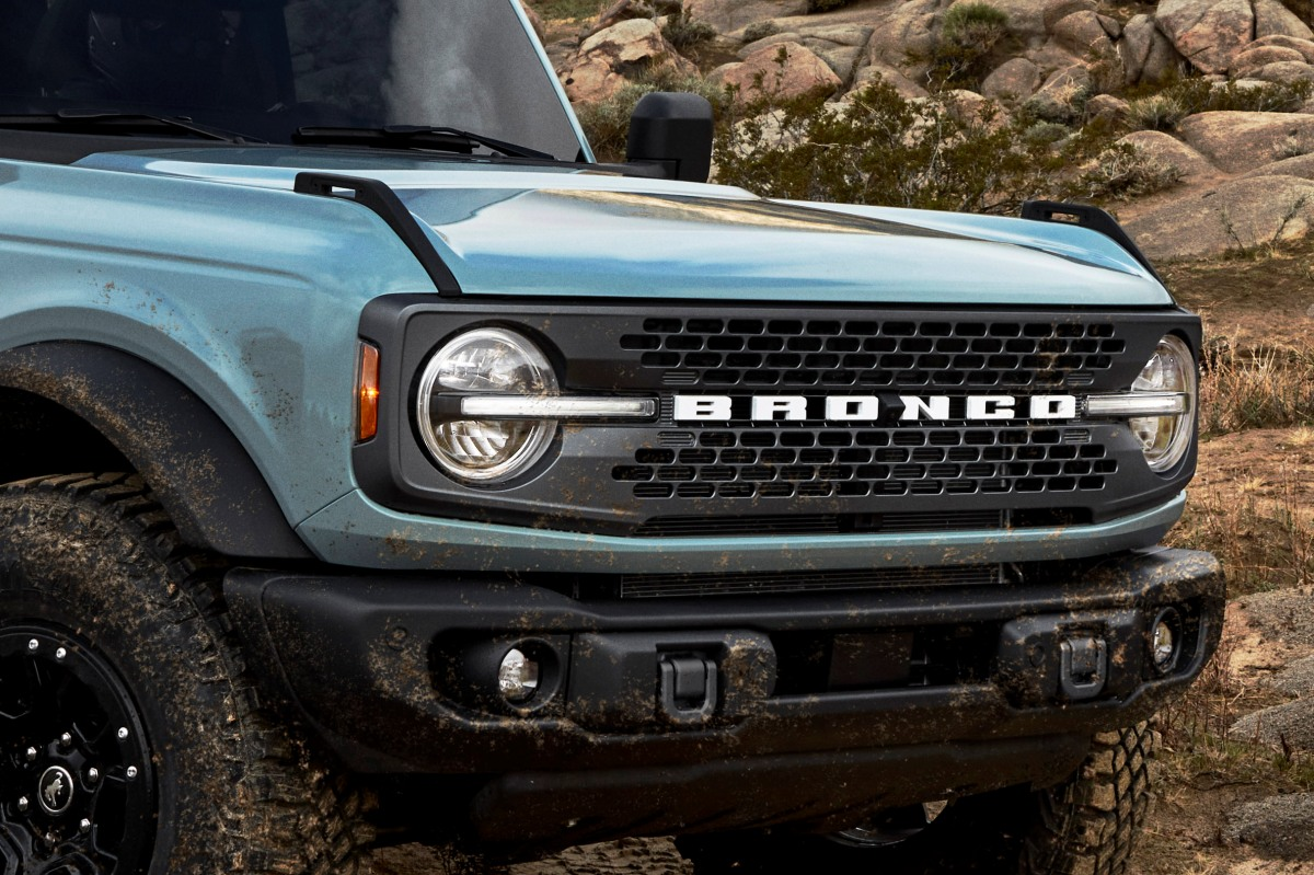Easter Eggs Ford Bronco 2021