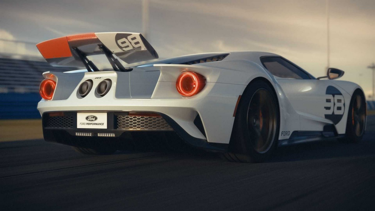 Ford GT Heritage Edition 2021 zaga