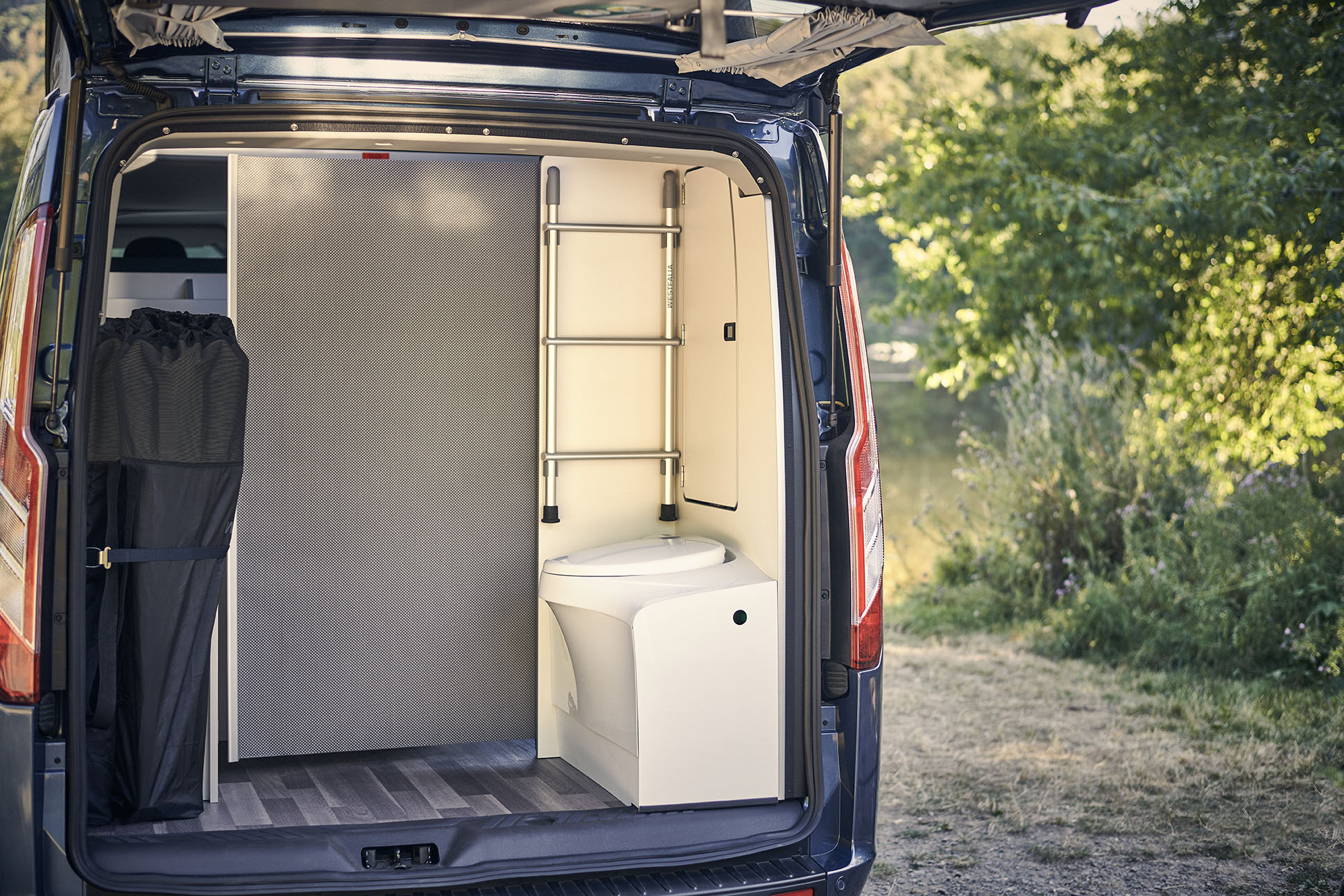 Nueva Ford Transit Custom Nugget Plus baño