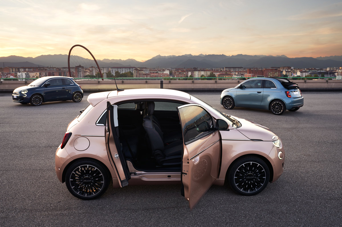 Fiat 500 3+1 lateral