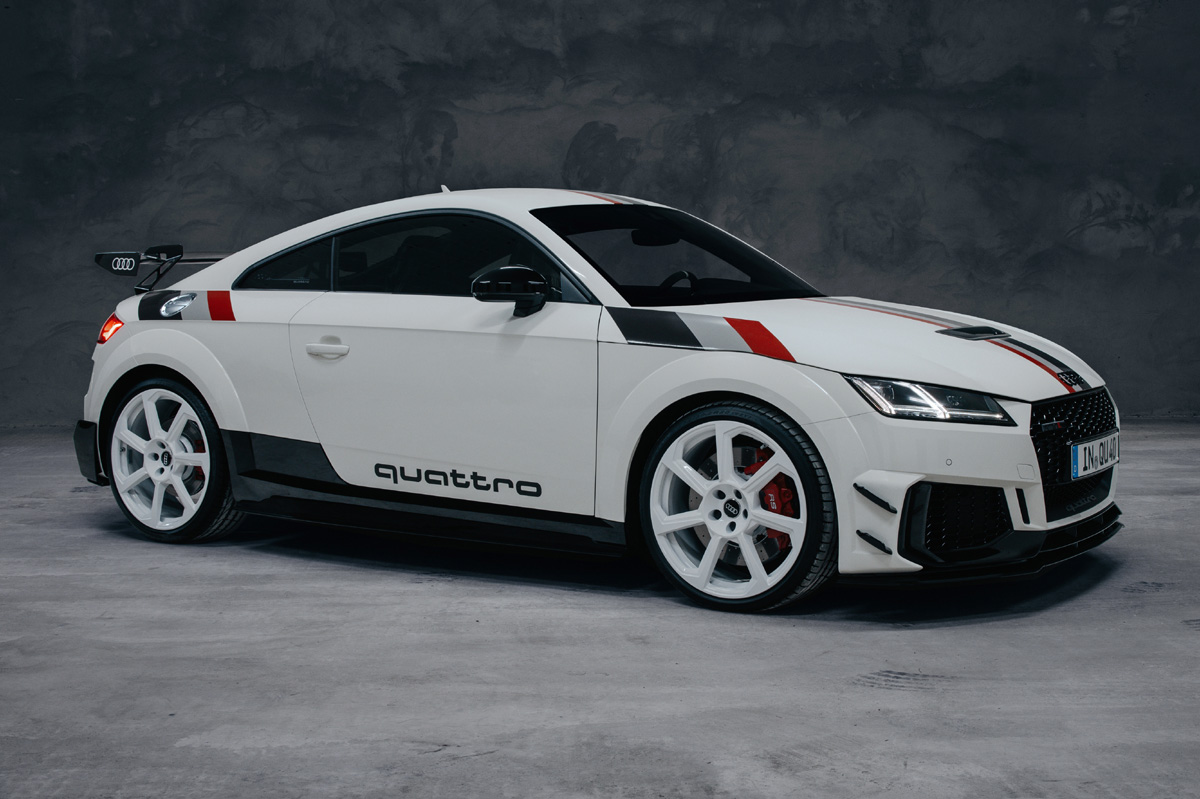 Audi TT RS 40 years of quattro, limitado a 40 unidades