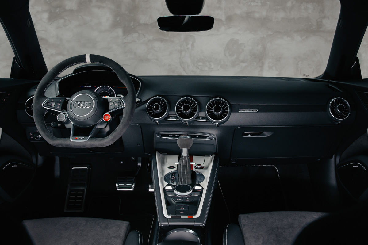 Audi TT RS 40 years of quattro interior