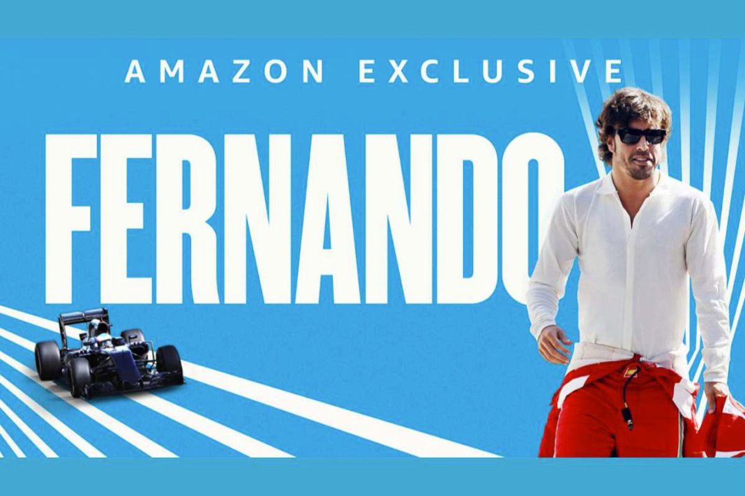 portada documental de Fernando Alonso gratis en Amazon Prime Video
