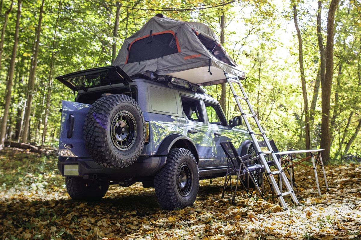 Ford Bronco Overland Concept trasera