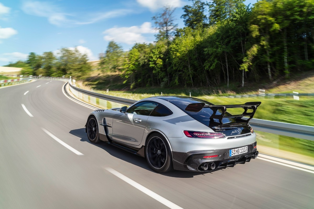 Mercedes-AMG GT Black Series lateral