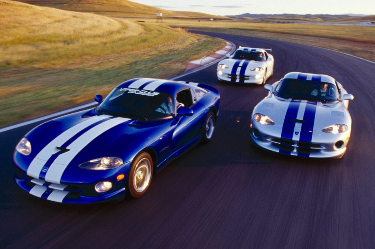 FCA destruyo 93 Dodge Viper preproduccion 2014