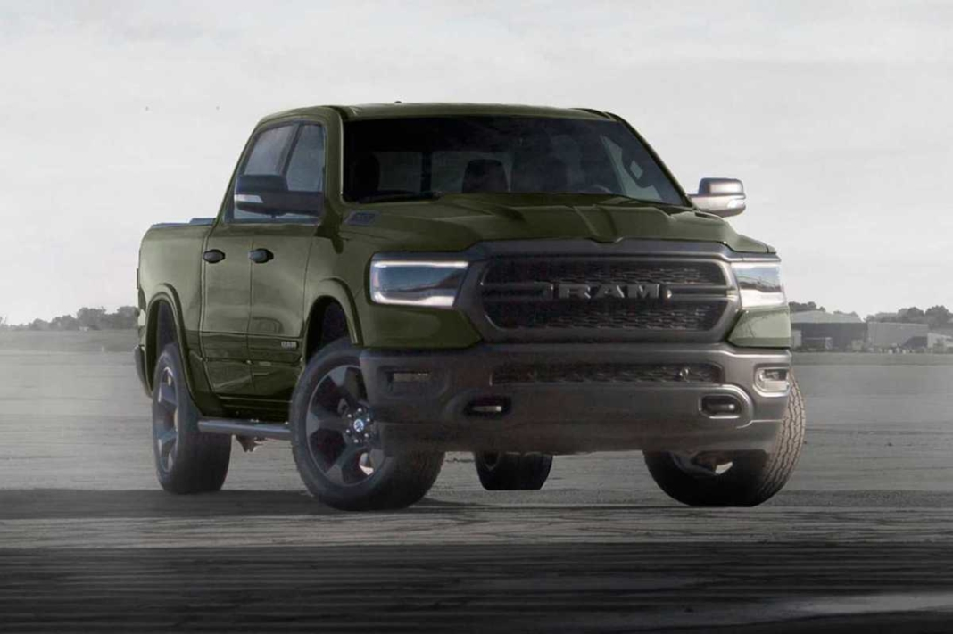 Ram 1500 'Built to Serve' Edition 2021