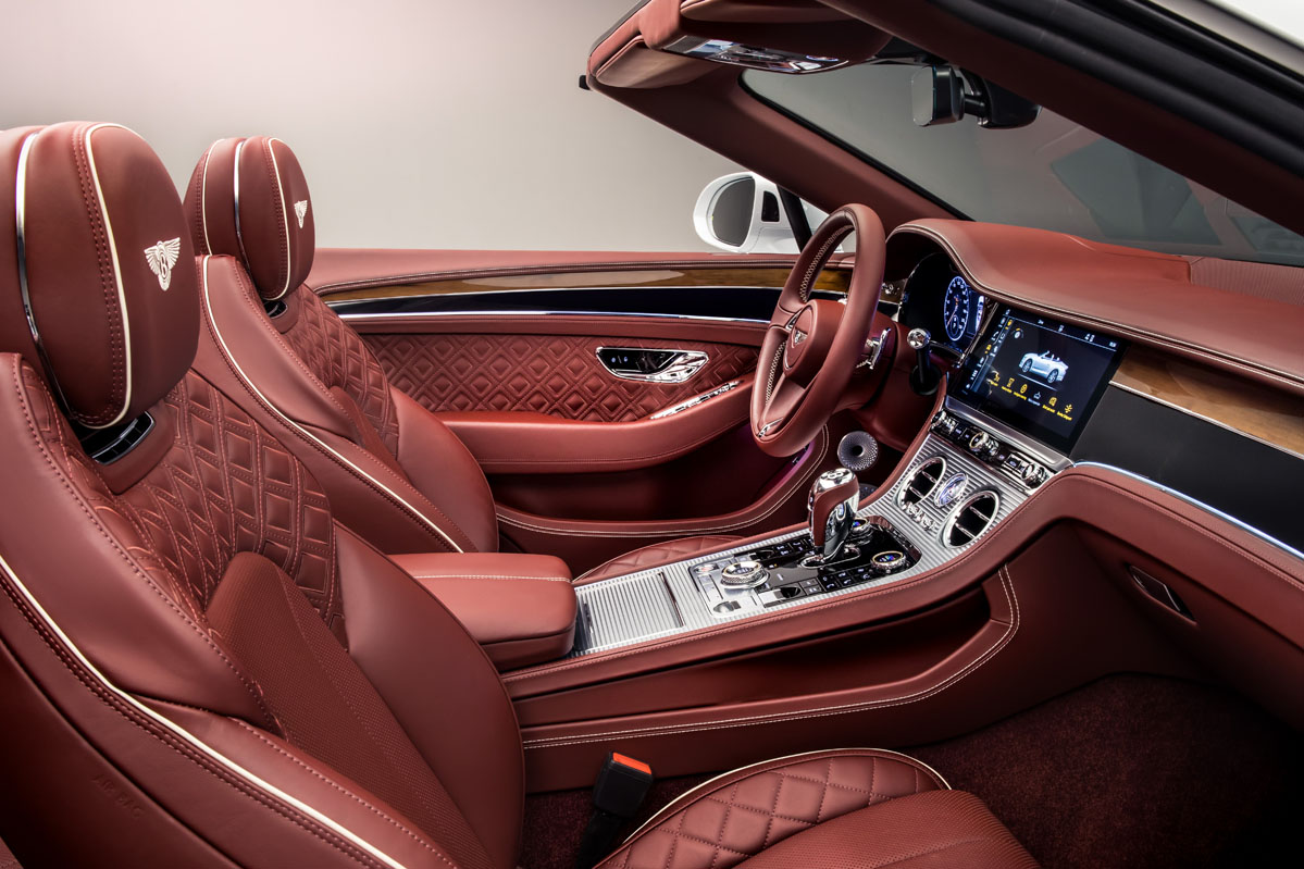 interior Bentley Continental GT Convertible W12