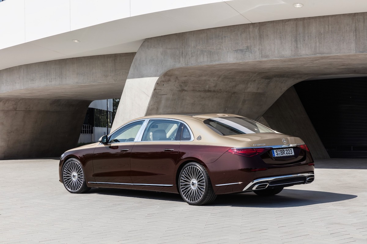 trasera del Clase S Mercedes-Maybach 2021