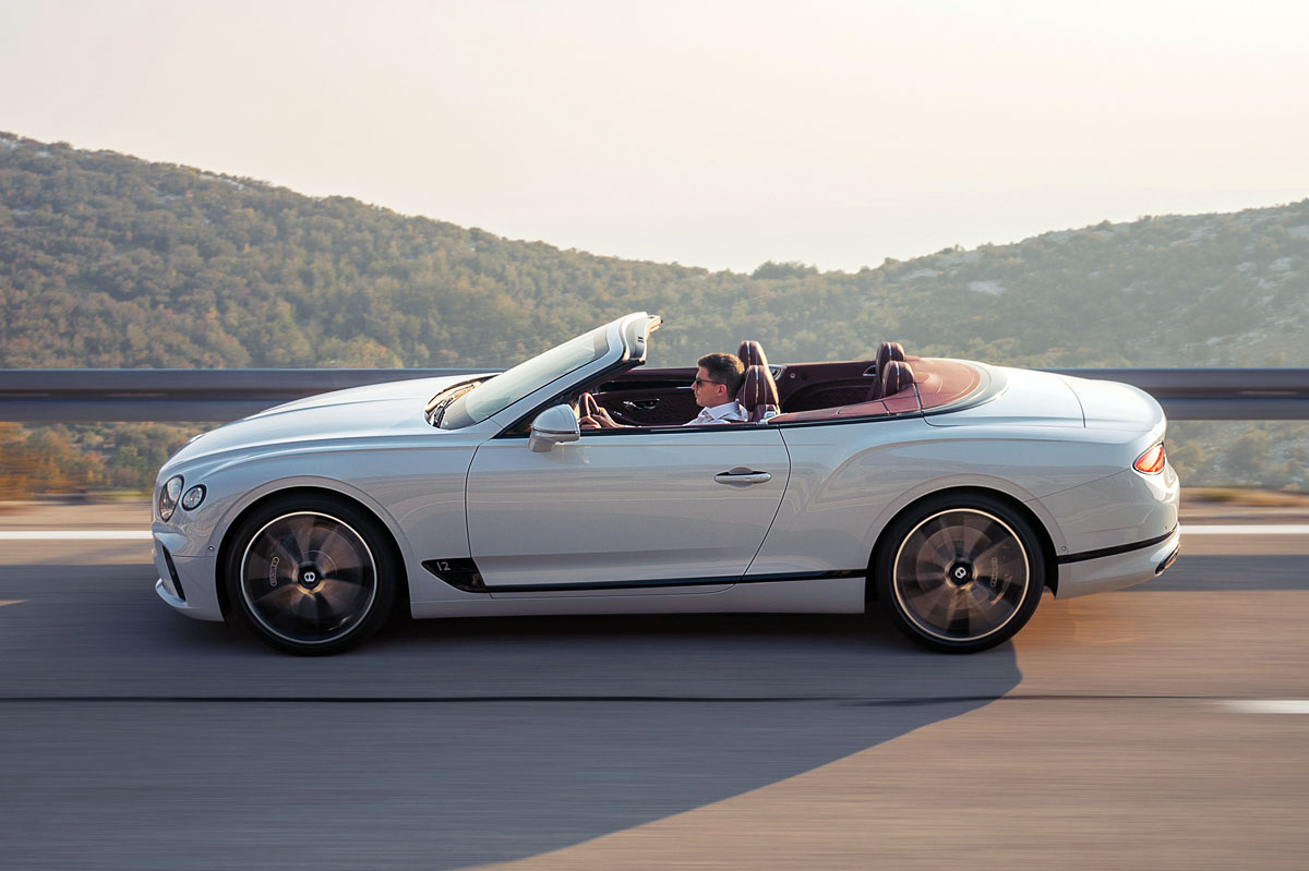 barrido Bentley Continental GT Convertible W12