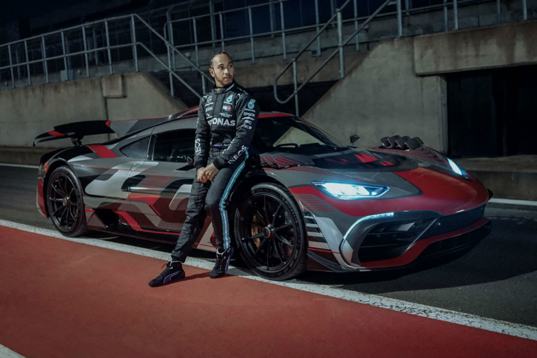Lewis Hamilton Mercedes AMG Project One