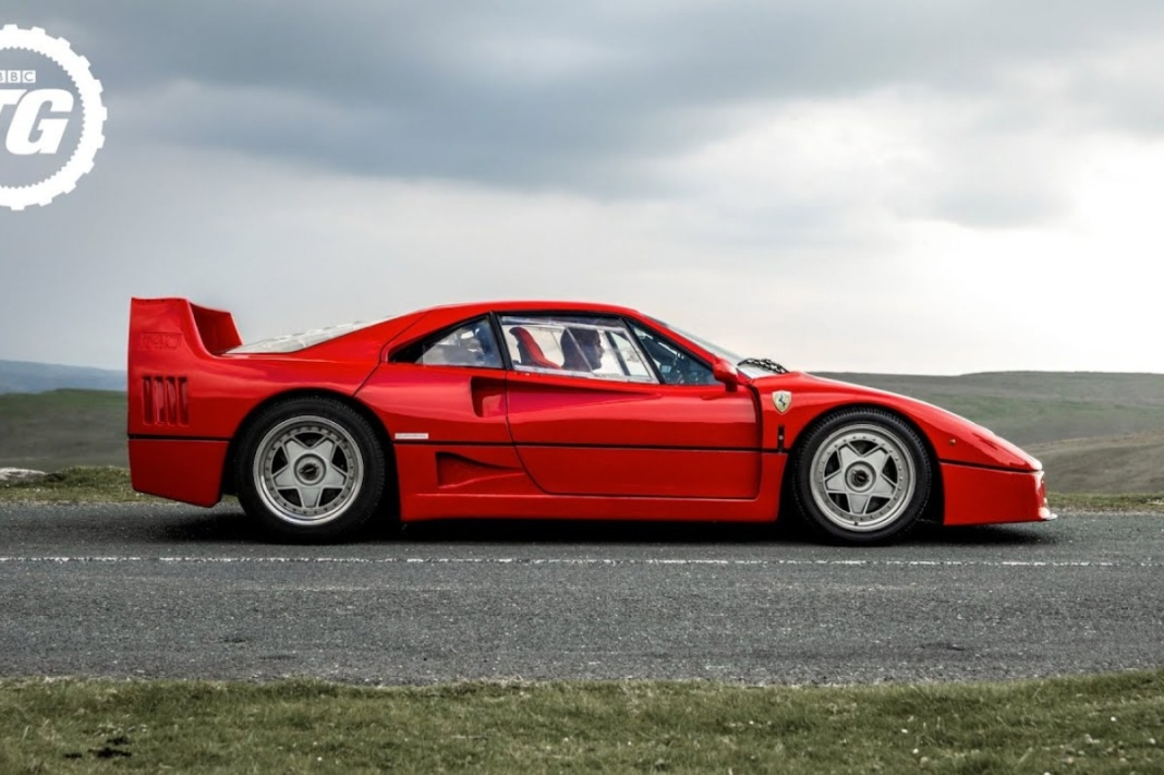 Ferrari F40 Jaguar XJ220 Top Gear