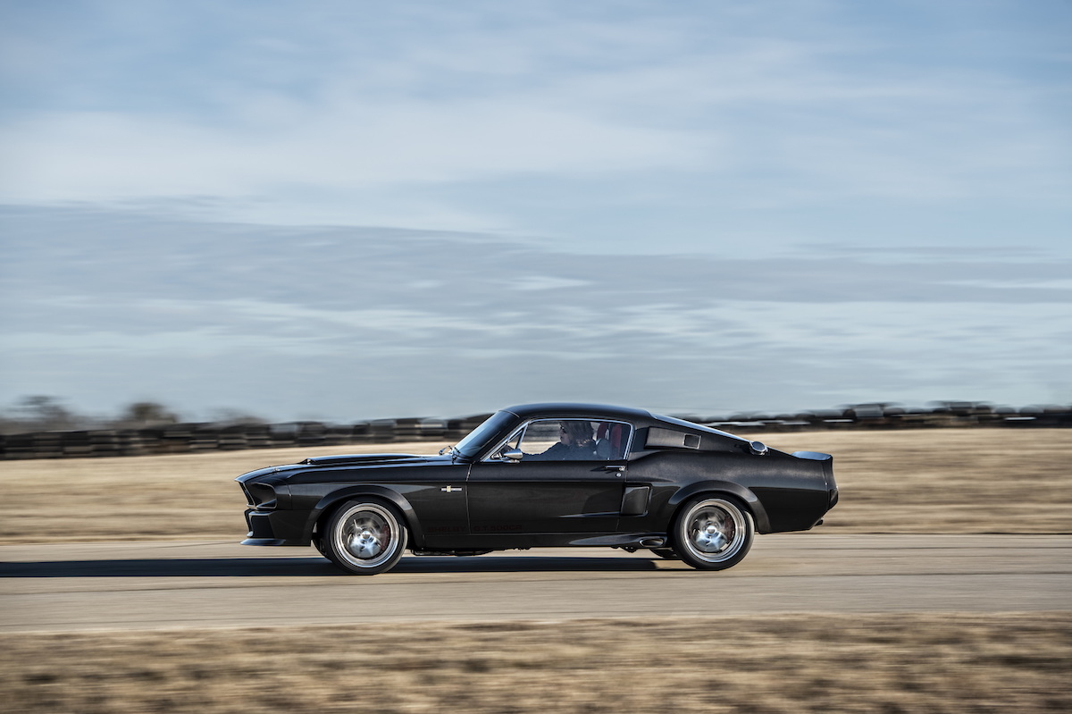 Ford Mustang Shelby GT500CR lateral