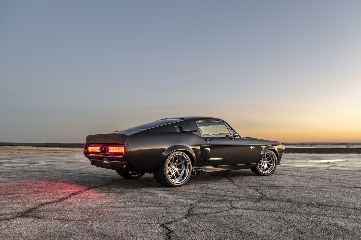 Ford Mustang Shelby GT500CR 3/4 trasera