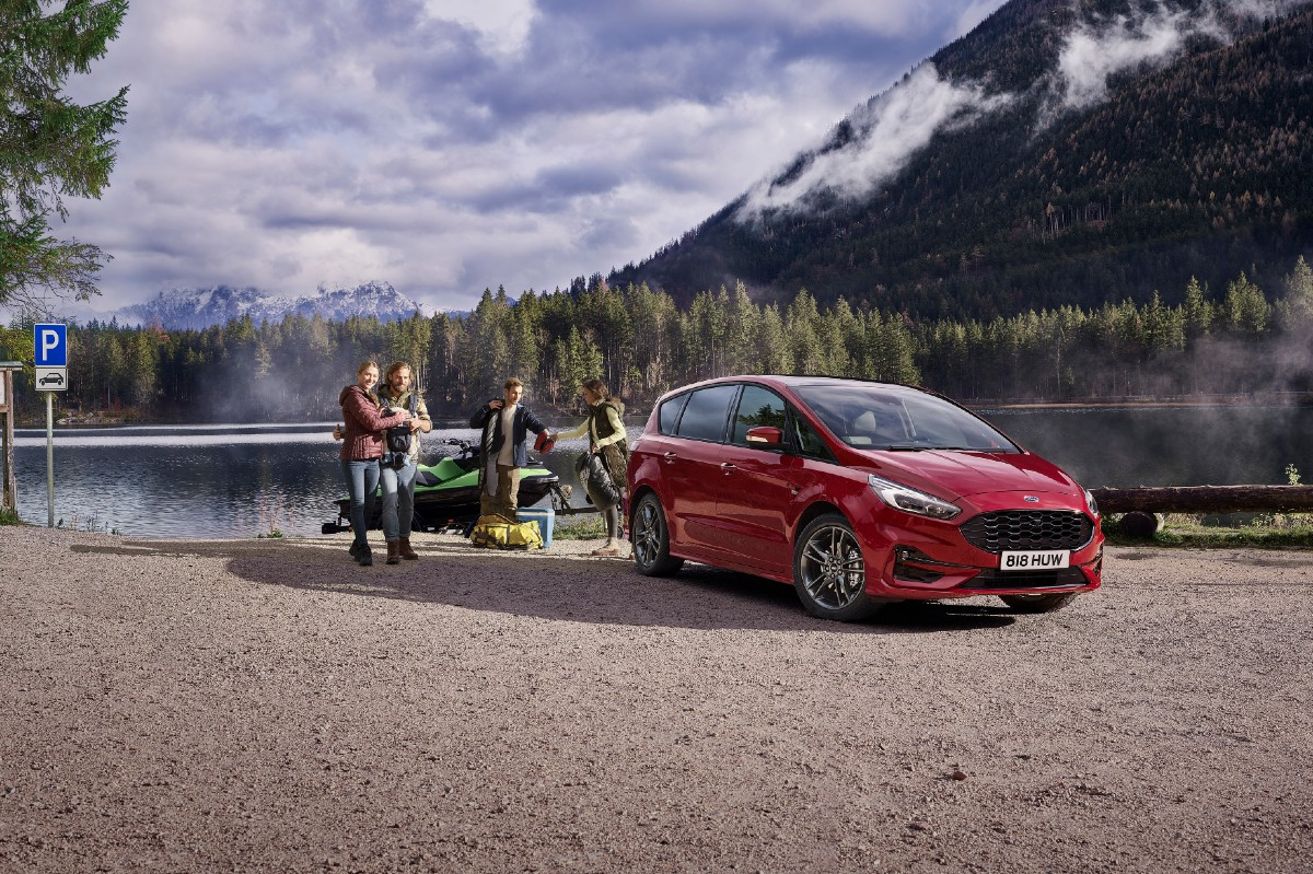 Ford S-Max Hybrid 2021 frontal
