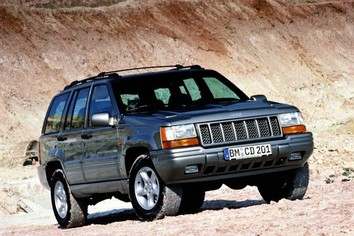 Jeep Grand Cherokee Limited V8 5.9 litros 3/4 frontal