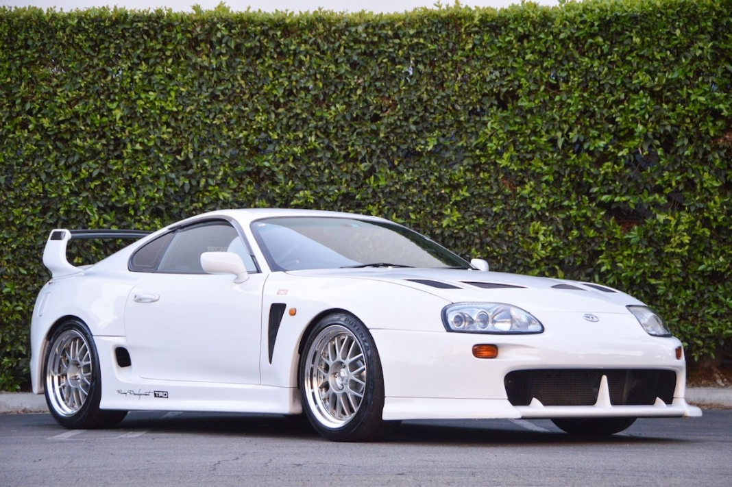 Toyota Supra widebody